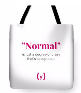 The Syndrome Mag tote bag